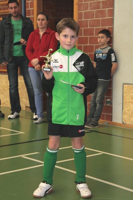 Bester Torschütze vom SV Tanne Thalheim