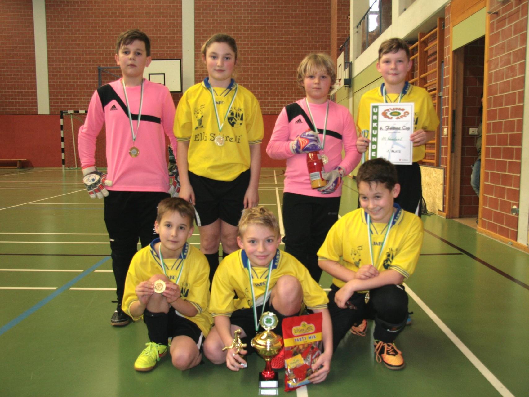 1. Platz: VfL 05 Hohenstein