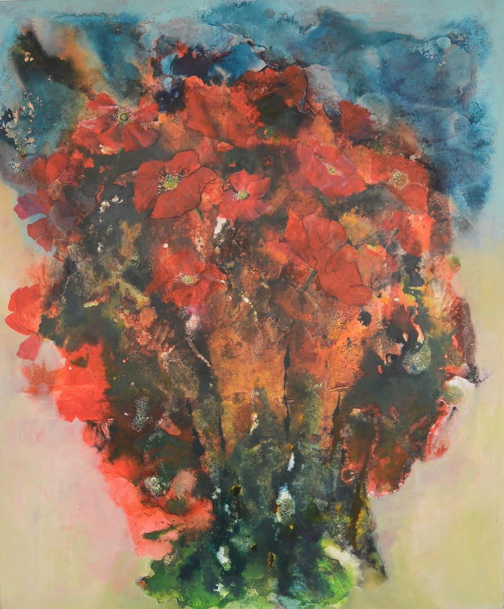 Mischtechnik auf Leinwand, 100 x 120 cm