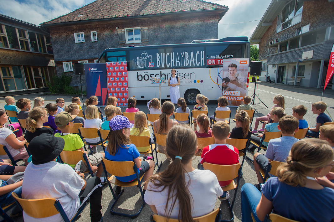 On Tour mit Qualle – Buch am Bach 2021
