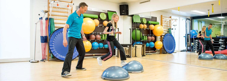Kinderphysiotherapie kombiniert mit mentales Training