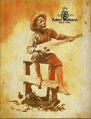 Robert Matteacci Cigar Box Guitars