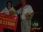 Мои спонсоры в Орифлэйм.Марина и Василий Кравцовы.