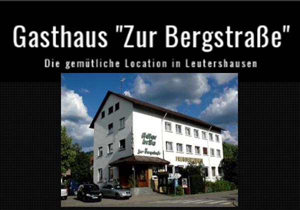Gasthaus zur Bergstraße