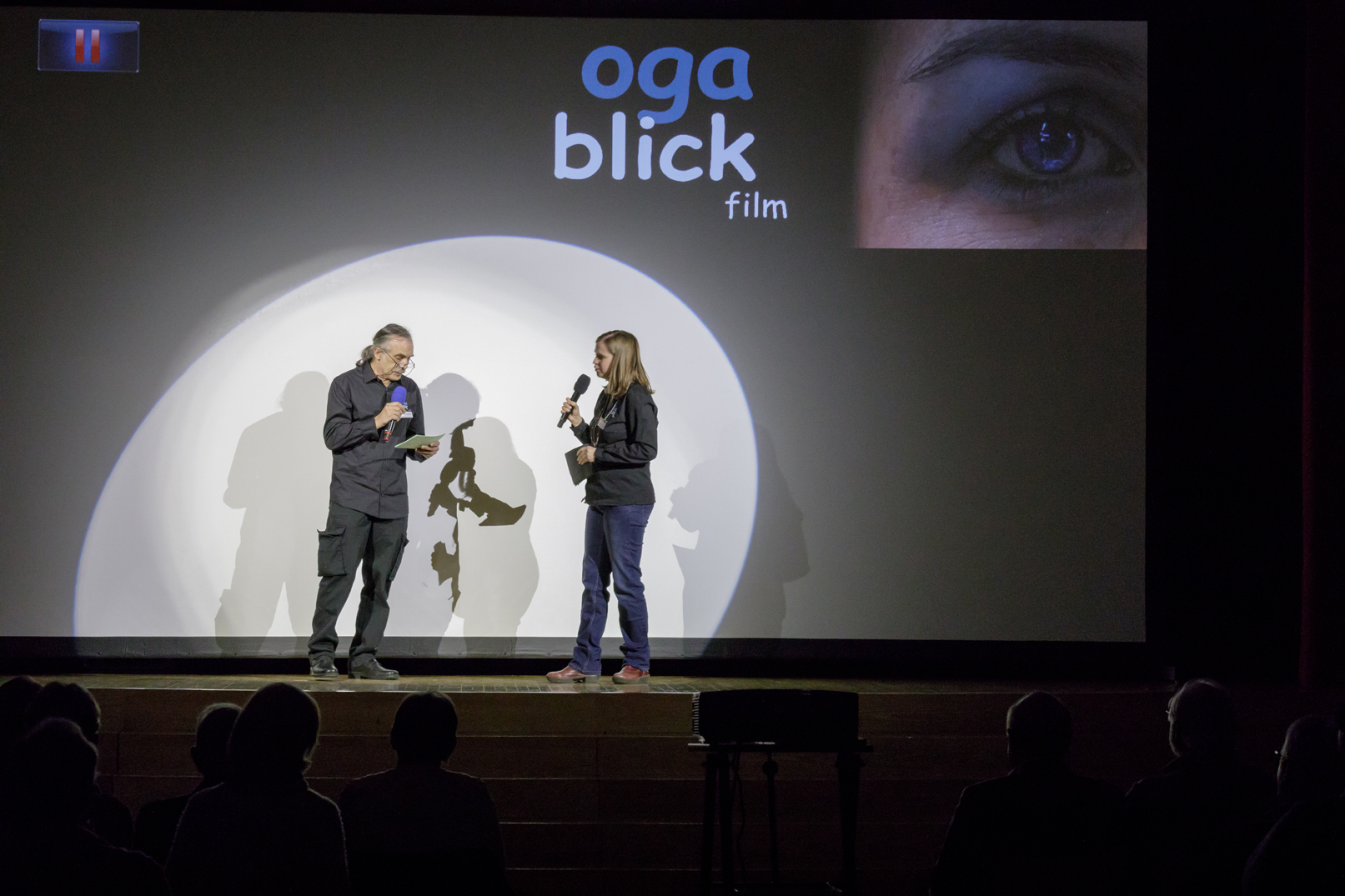 Moderatoren Gabi und Wolfgang