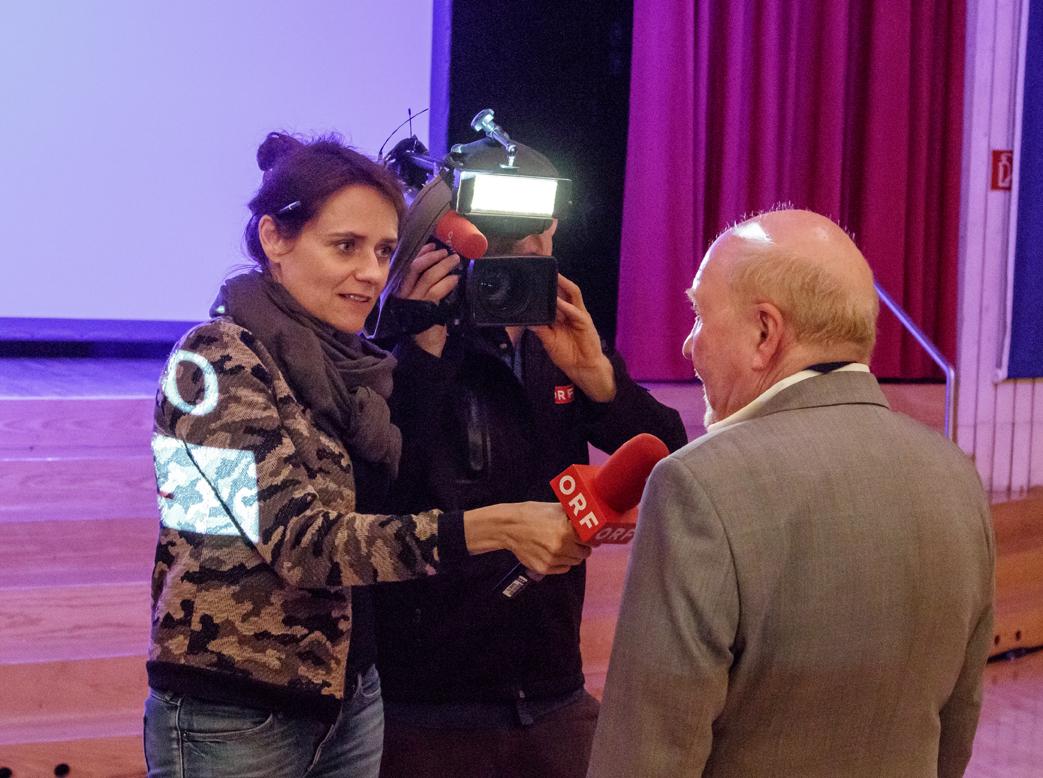 ORF Vheute war bei uns zu Gast
