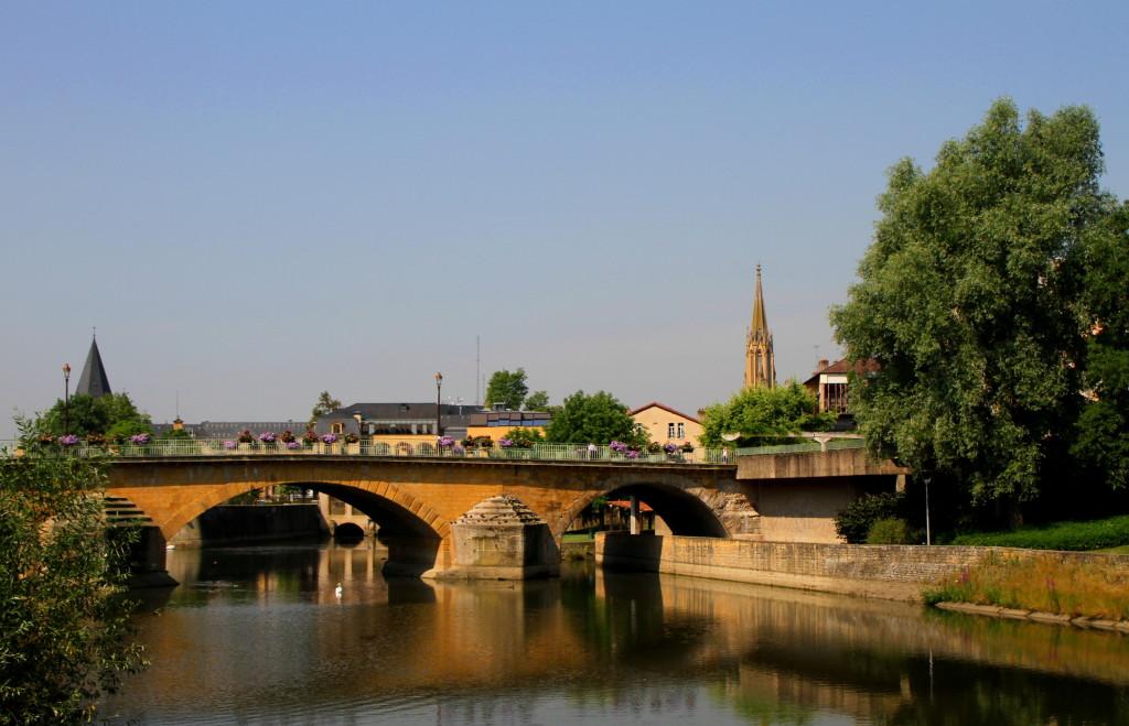 der Moyen Pont in Metz