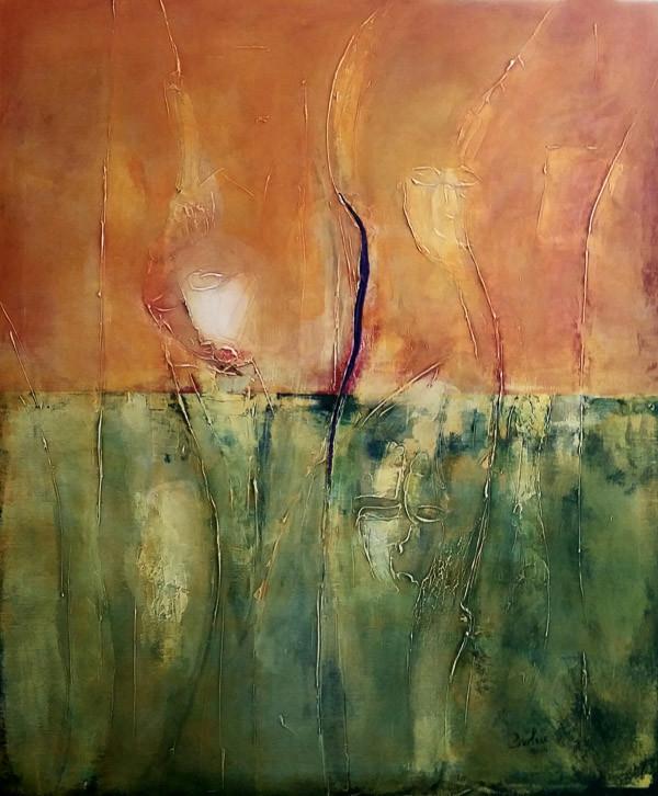 Luigi Brolese-Wounded Earth_acrilico e olio su tela-cm120x100-2014