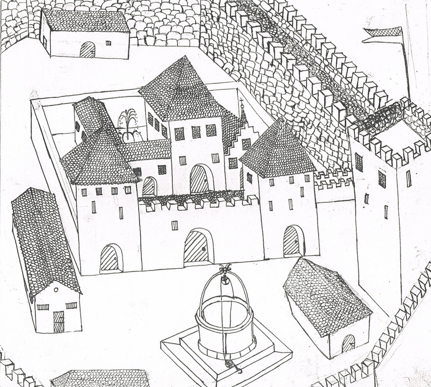 Burg / Chateau / Castle 1969