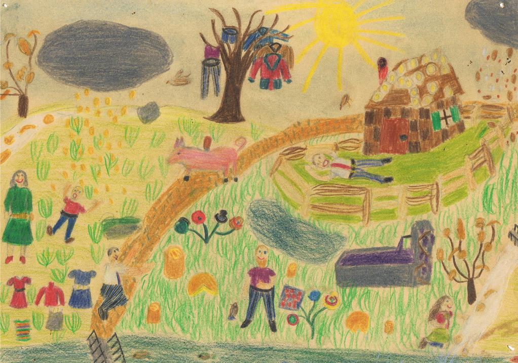 Schlaraffenland / Pays de Cocagne / Cockaigne, land of plenty,  6.1968