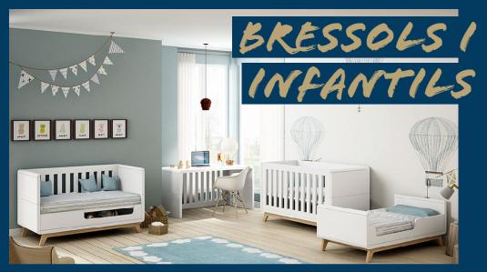 dormitori infantil modern amb bressol convertible a llit infantil i canviador