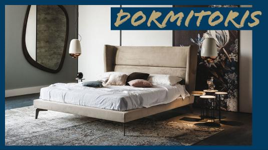 dormitori compost per llit de disseny amb capçal matalàs i taules de nit