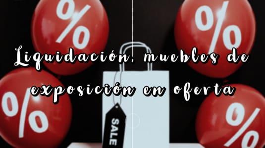 oferta en muebles de calidad en Barcelona