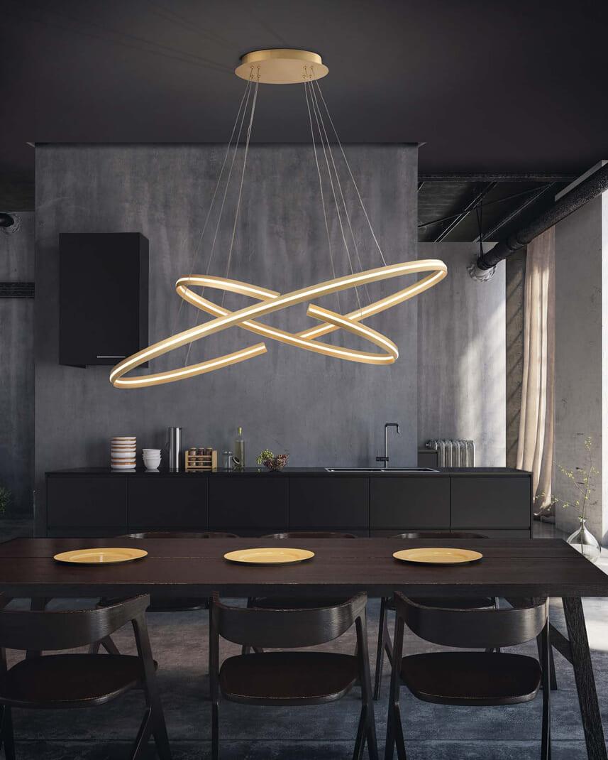 lámparas de techo salón