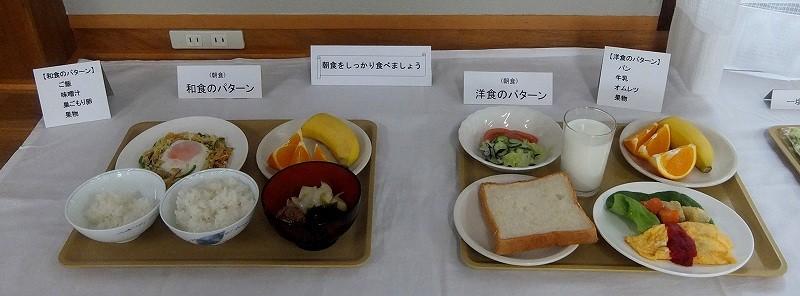 朝食の「和」「洋」のパターン