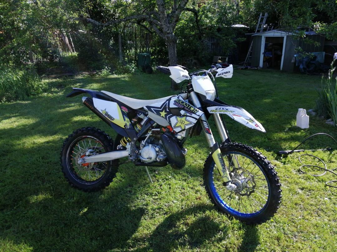KTM 200 exc de Rudy