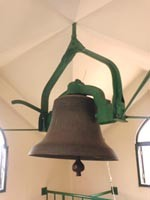 Church bell, donated by Mrs. Marry Pruyn