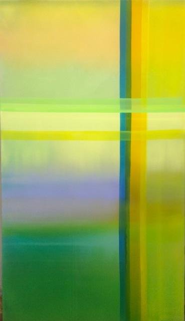 引き合う線   P120(192x112cm)  2014