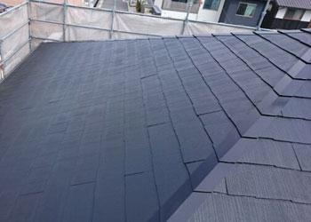 屋根のリフォーム後