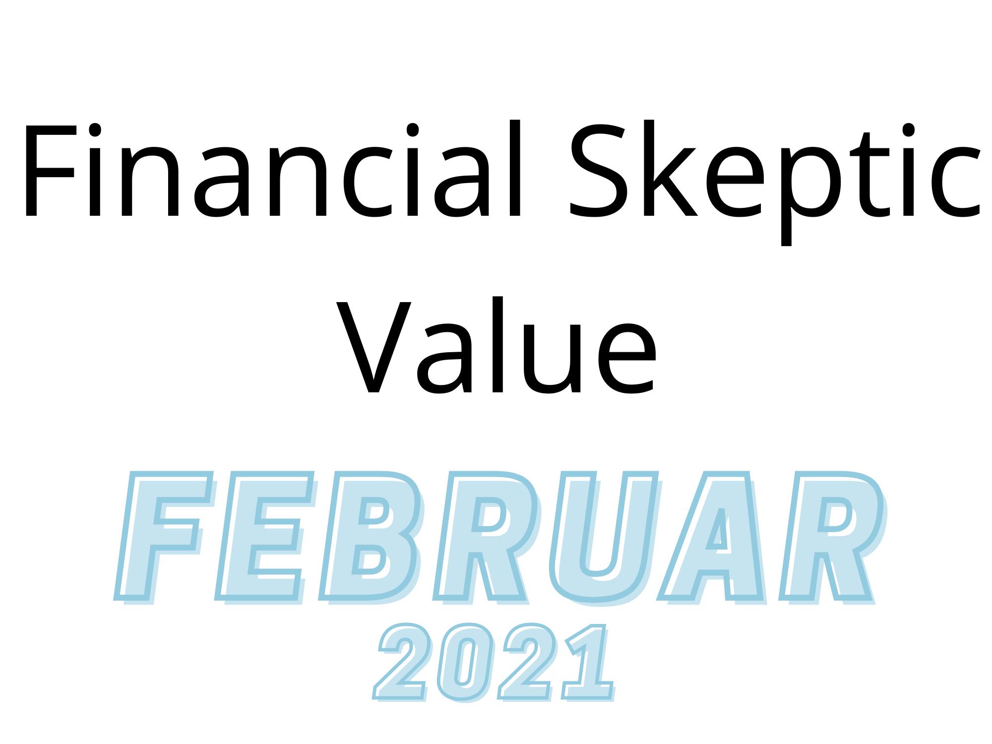 Wikifolio Monat Februar 2021