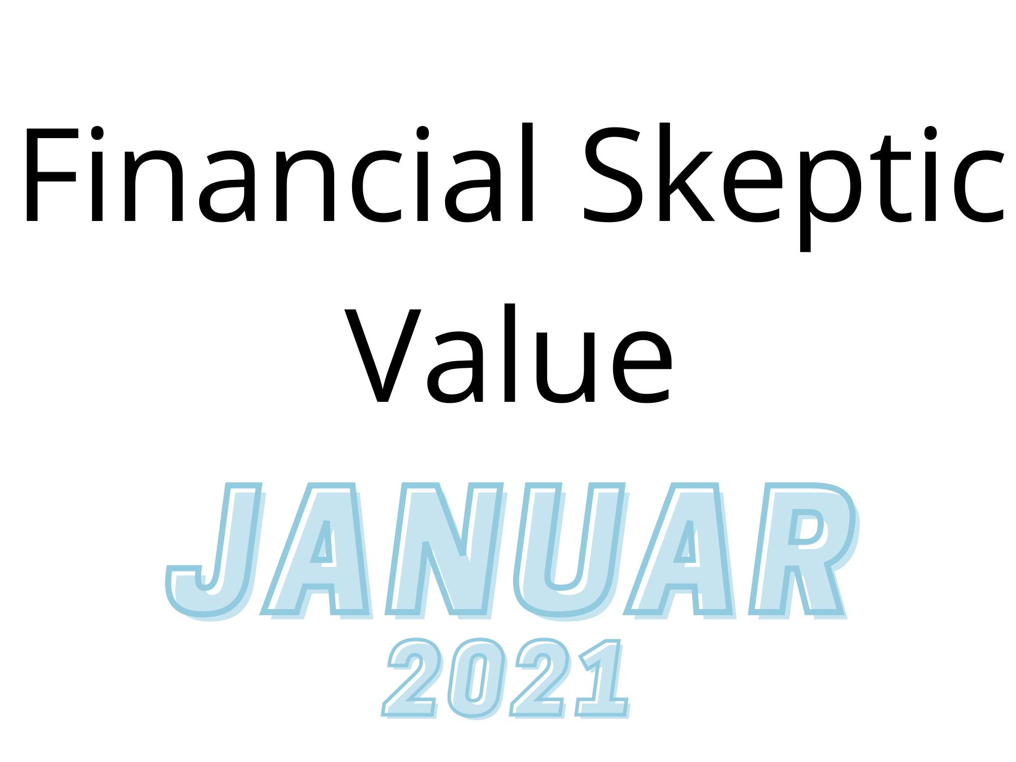 Wikifolio Monat Januar 2021
