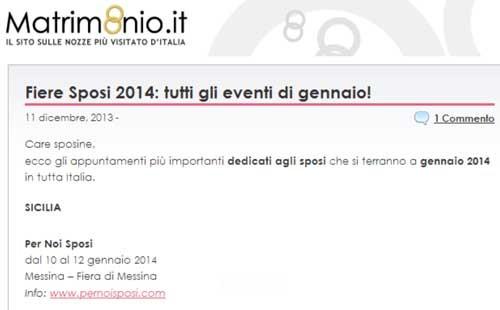 www.matrimonio.it