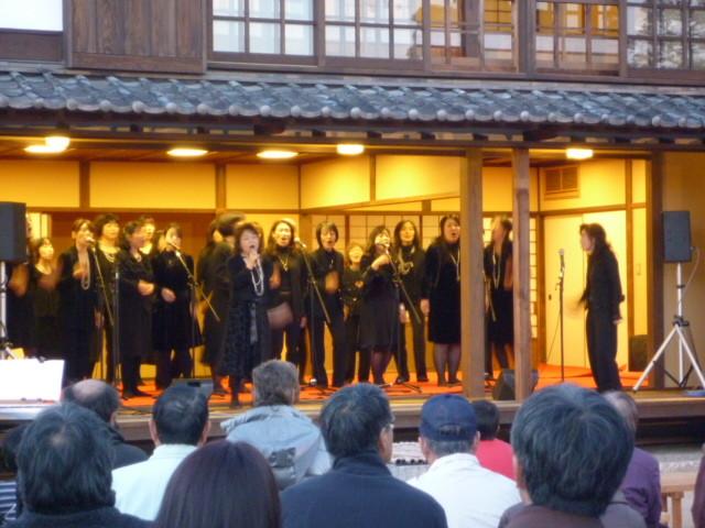 「倉敷川物語・ふるさとコンサート」の最後は