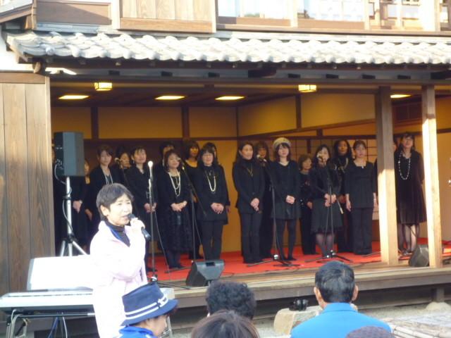 阿智神社宮司の会長さんのご挨拶で