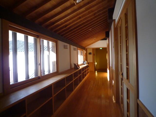 木の香と木目が美しい日本家屋なのです