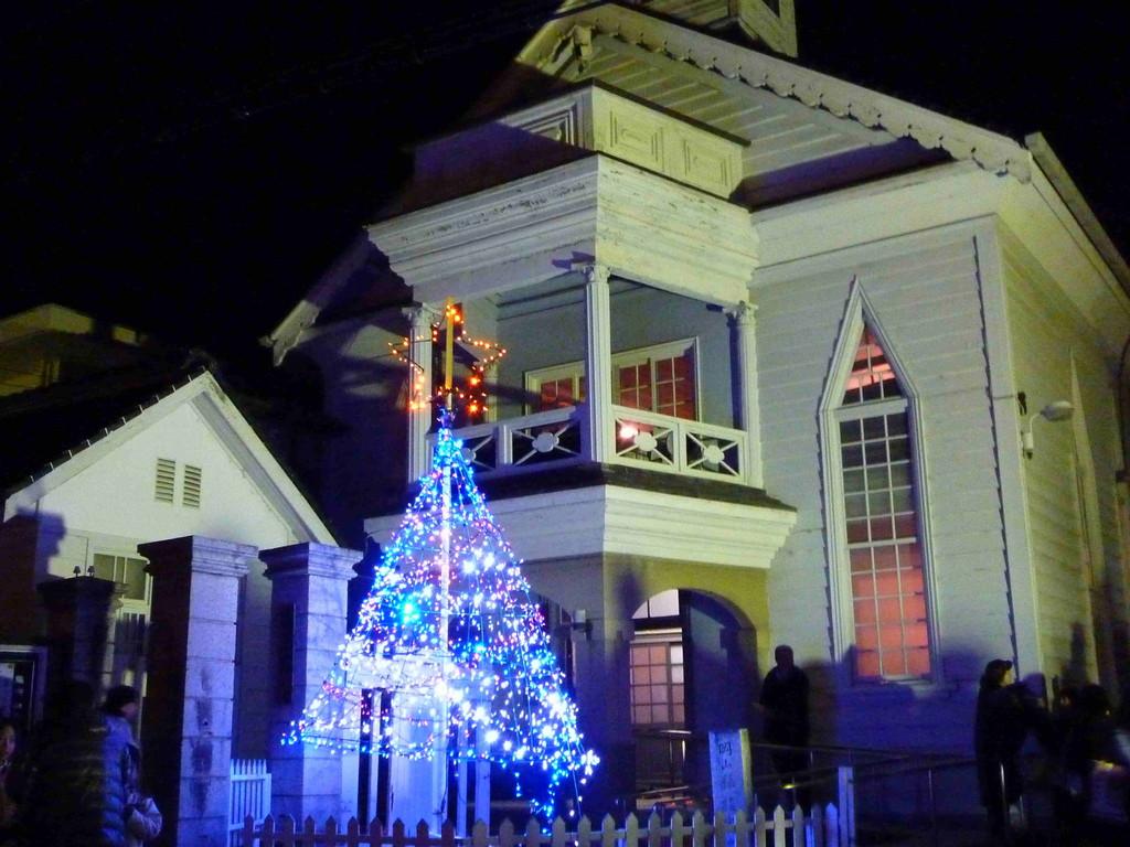 2010.12.11 「高梁キリスト教会」にて