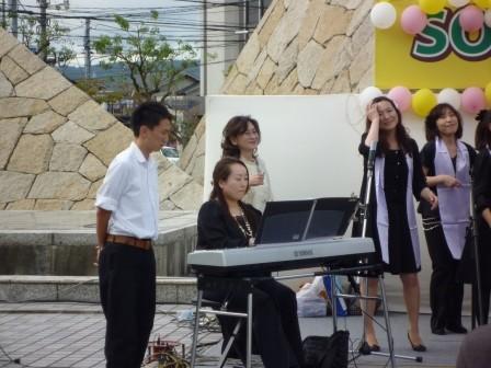 今回は伴奏の心強いサポート(^_-)-☆