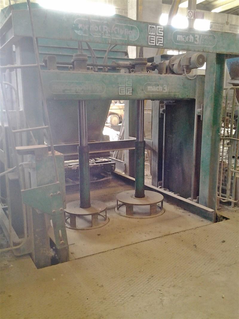 Tubiere per la produzione di tubi in cemento