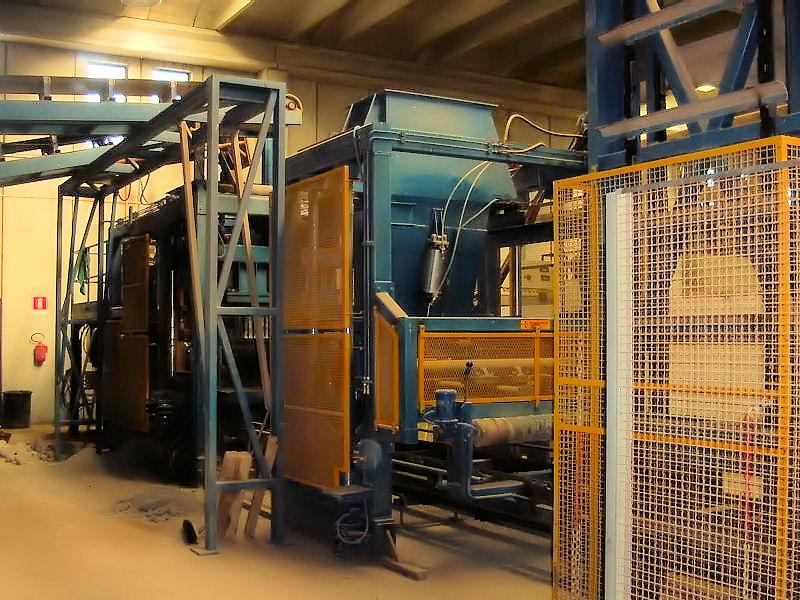 Impianti fissi automatici completi per la produzione di manufatti incemento