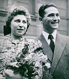 Hochzeitsfoto von Cläire und Heinz Rosenhain in Oslo (Foto: Privatbesitz Cläire Rosenhain)
