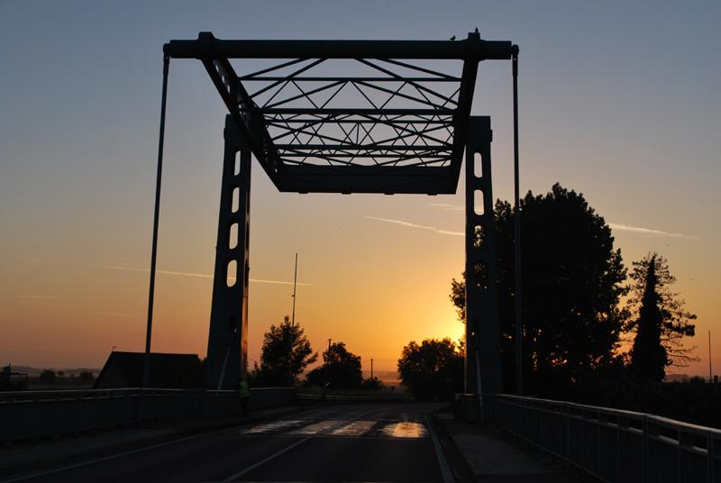 Pont-levant à Saint-Valery-sur-Somme
