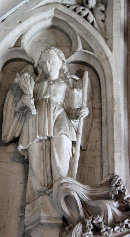 Un ange- Les verges et la lance