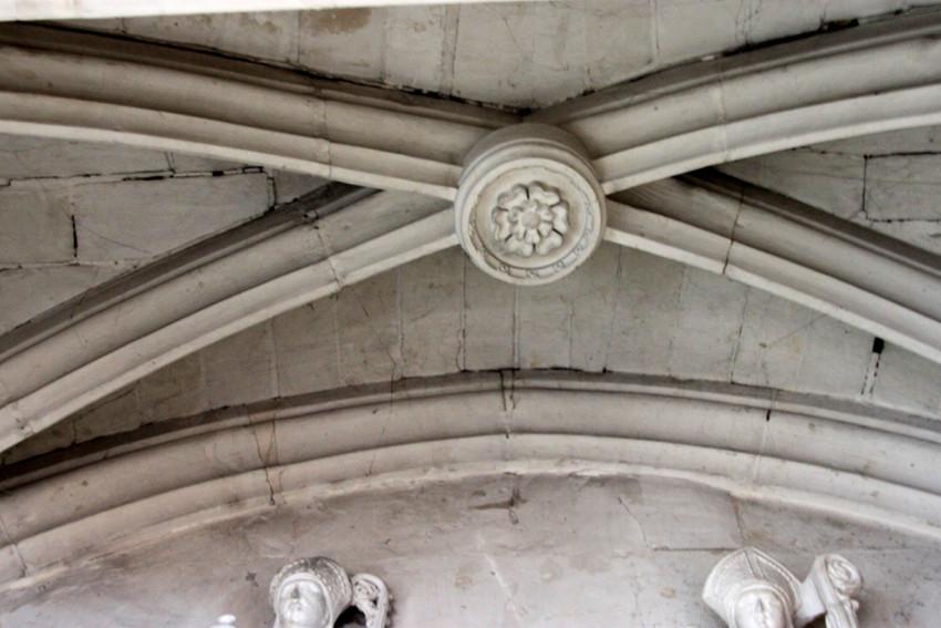 Voûte de la chapelle du Sépulcre