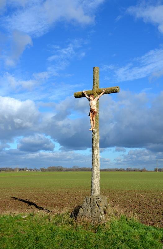 Nibas (Saucourt)- La croix de l'Ormelet
