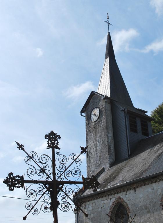 Eglise de Ribeaucourt- Canton de Domart-en-Ponthieu