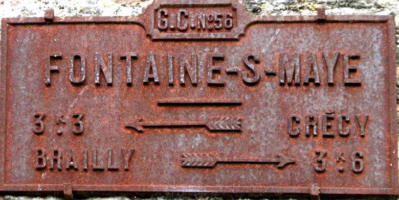 Fontaine-sur-Maye (canton de Crécy-en-Ponthieu)- Ph: Christiane Sellez