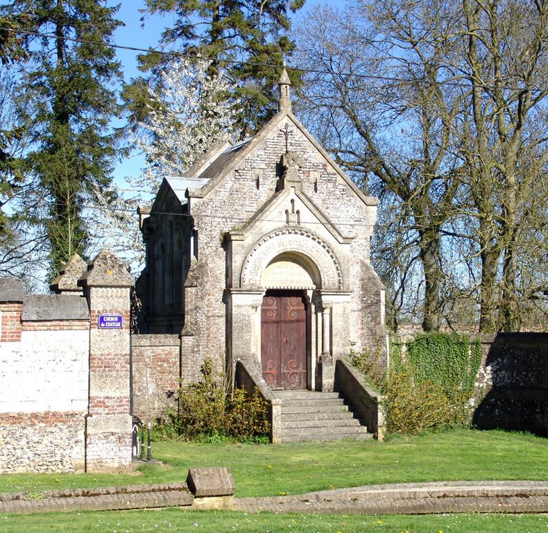 Mérélessart- Chapelle funéraire du château