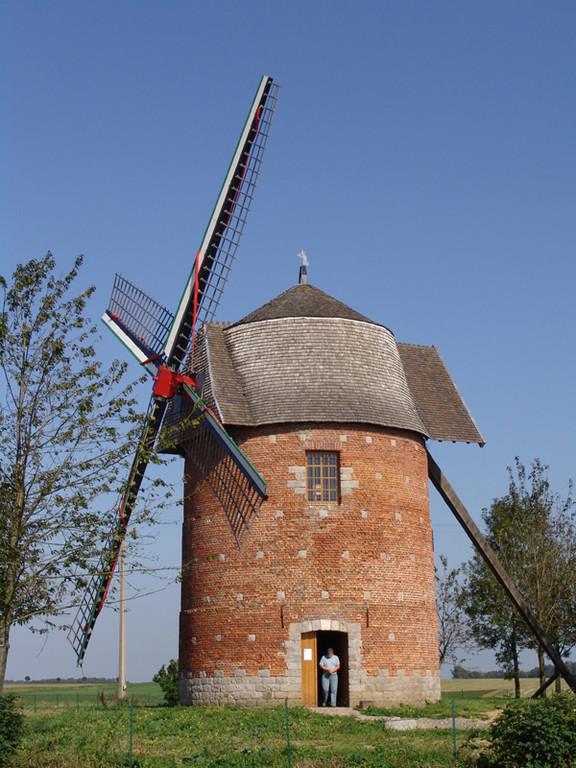 Moulin à Candas restauré en 2006