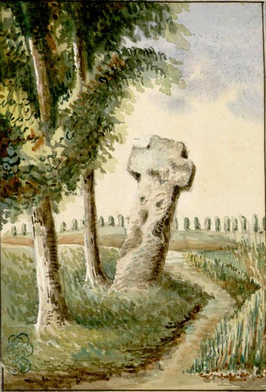 Cambron- La croix qui corne- Oswald Macqueron