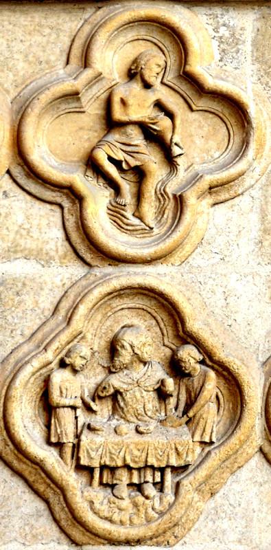 Janvier- Verseau- Janus, le dieu bicéphale est à table-
