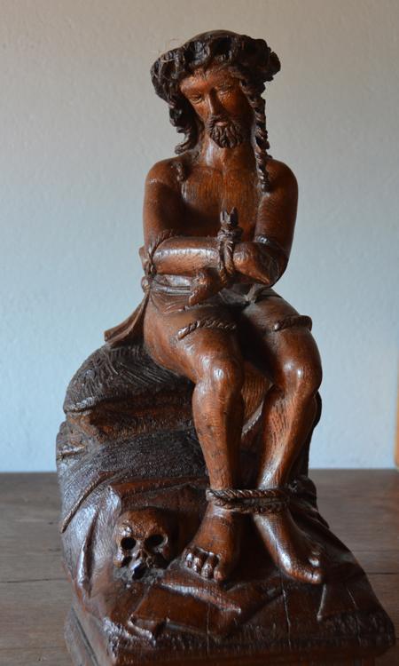 Christ aux liens dans l'église de Miannay- Sculpteur anonyme