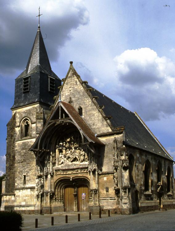 L'église N-D de l'Assomption à la Neuville-sous-Corbie