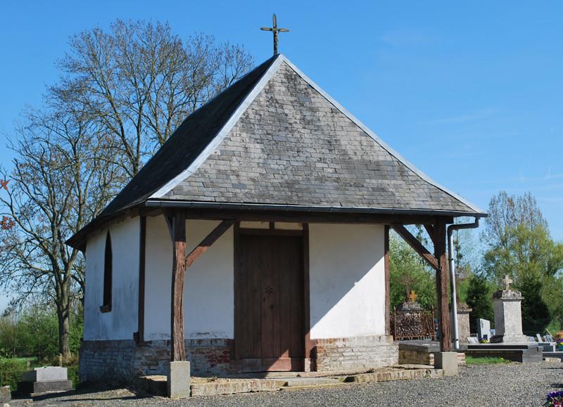 Chapelle du cimetière à Yonville (Citernes)