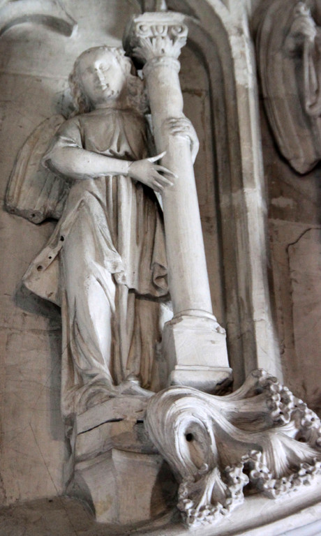 Un ange- La colonne de la Flagellation