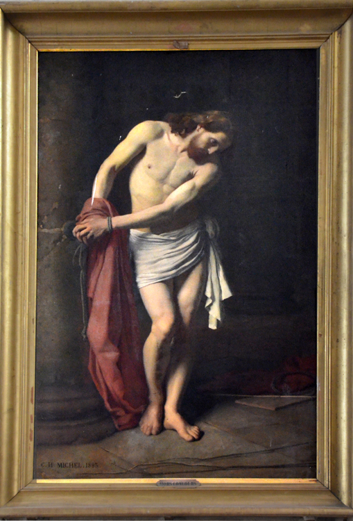 Ecce-Homo dans l'église St-Jean-Baptiste de Péronne