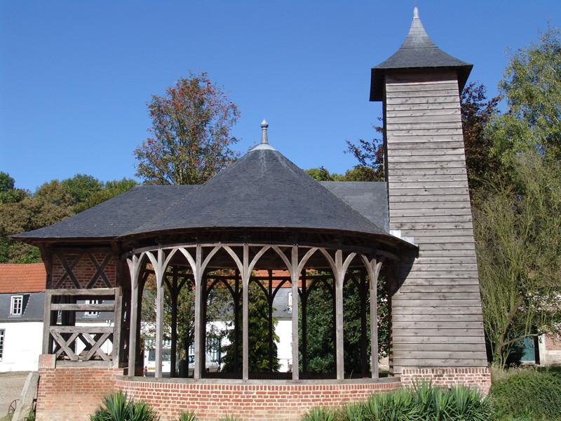 Le puits du château de Bertangles